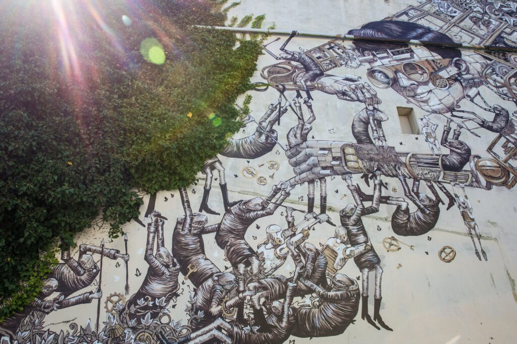The best street art in Dunedin, New Zealand